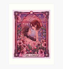 WayHaught | The Lovers | Wynonna Earp Tarot Art Print