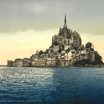 Mont Saint-Michel - Normandy, France  by warishellstore