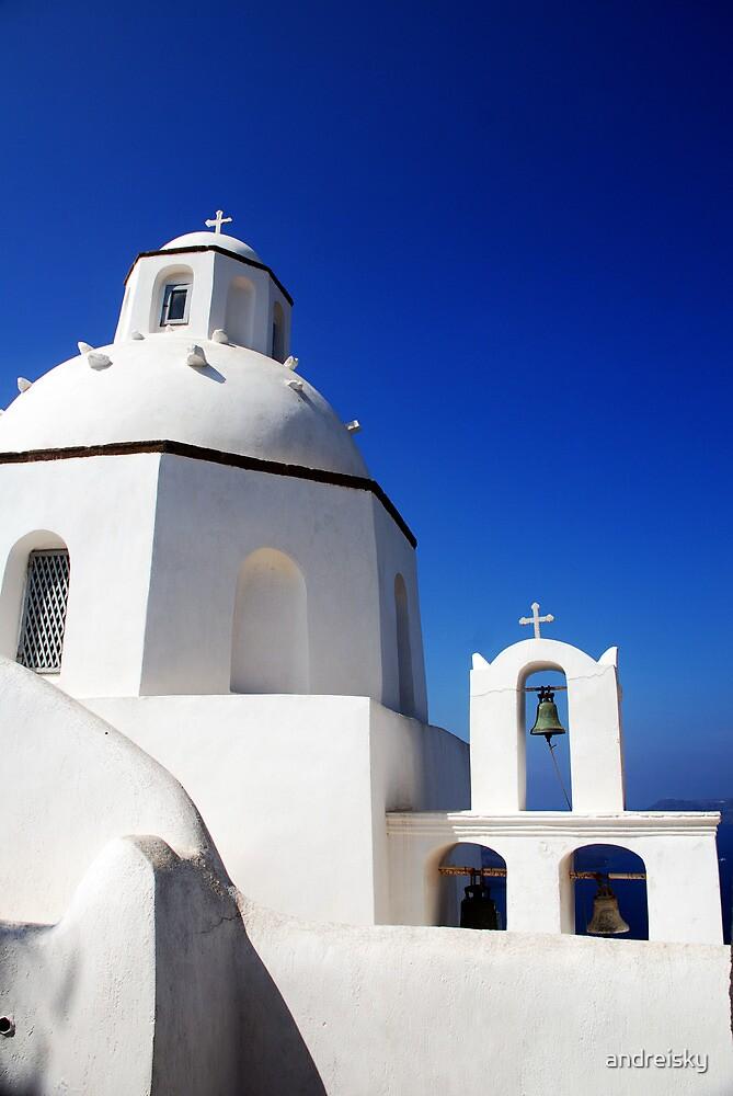 Greek church by andreisky