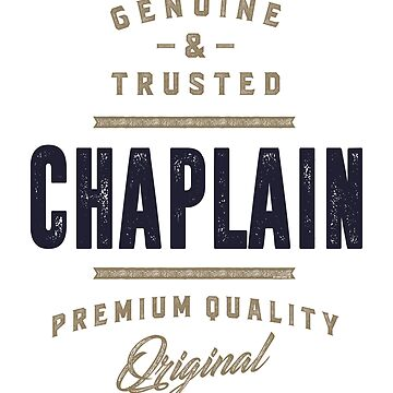 Chaplain Tees by alececonello