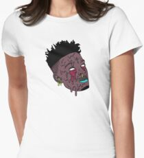 21 savage Women's Fitted T-Shirt