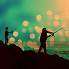 Dusk Fishing by LMHaselden