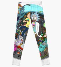 Rick and Morty spaceship Leggings