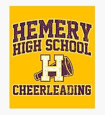Hemery High School Cheerleading Photographic Print
