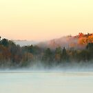 Misty Mountains by Heather King