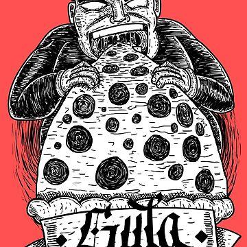 Gluttony by StreetMark