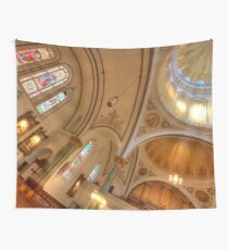 Obtuse Angle Intersecting Radial Geometry Wall Tapestry