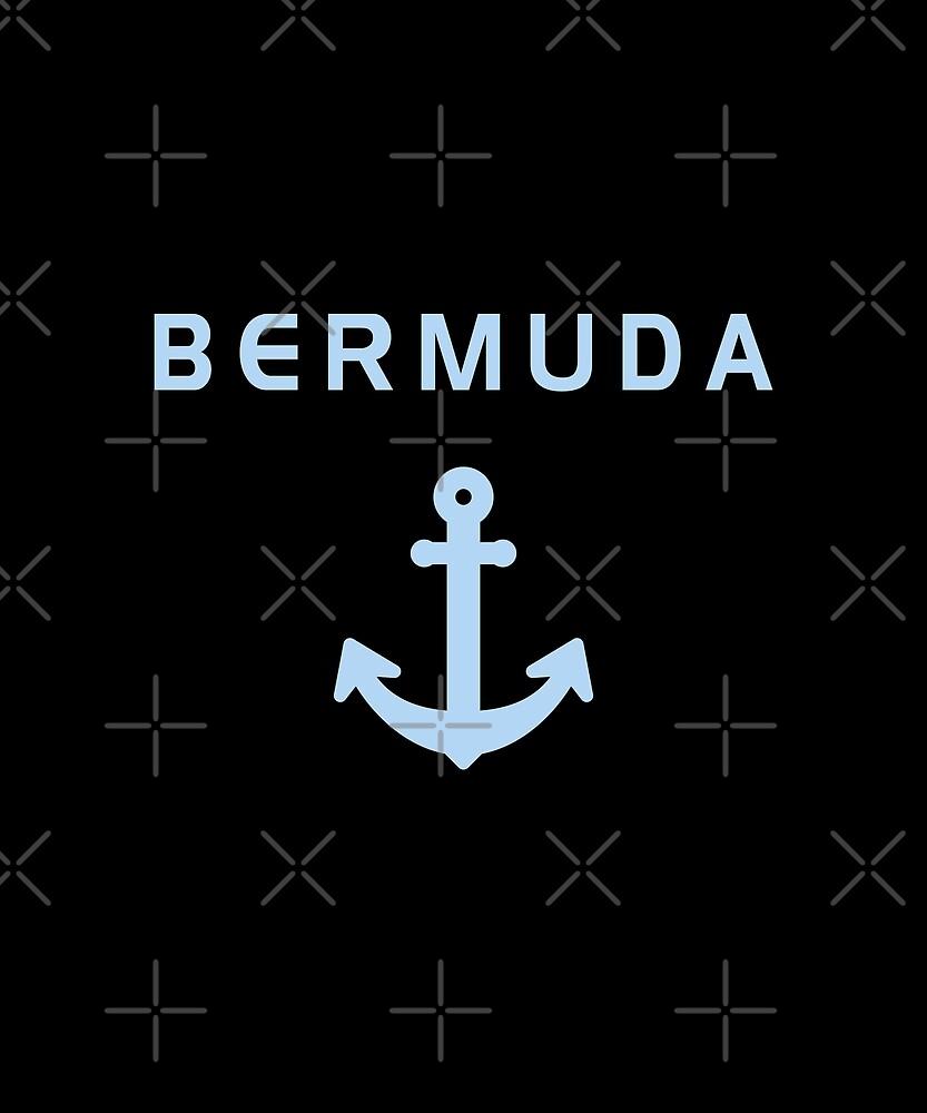 Bermuda Old Anchor for Sailing Dark Color by TinyStarAmerica