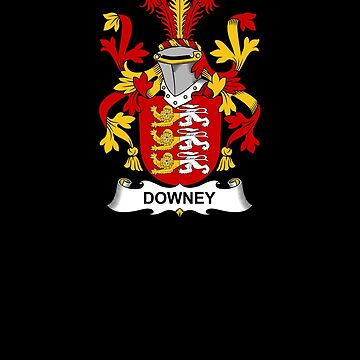 Downey Coat of Arms - Family Crest Shirt by FamilyCrest