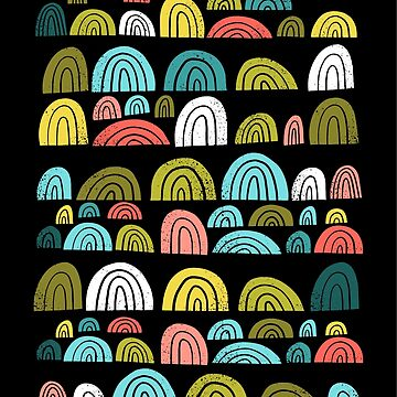 Stone rainbows color  by wellkeptthing