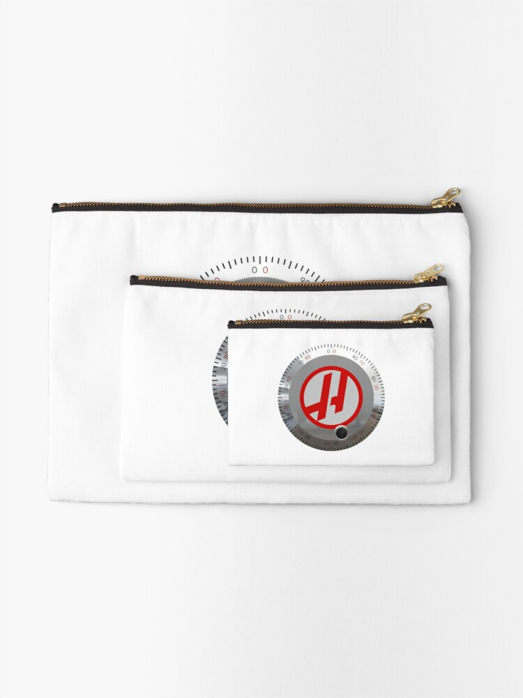 Alternate view of Haas Jog Handle Zipper Pouch