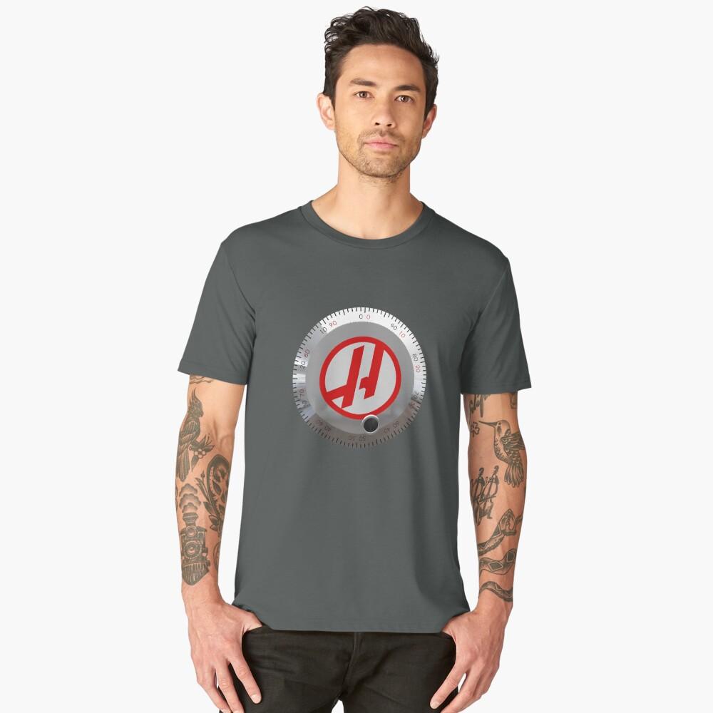 Haas Jog Handle Men's Premium T-Shirt Front