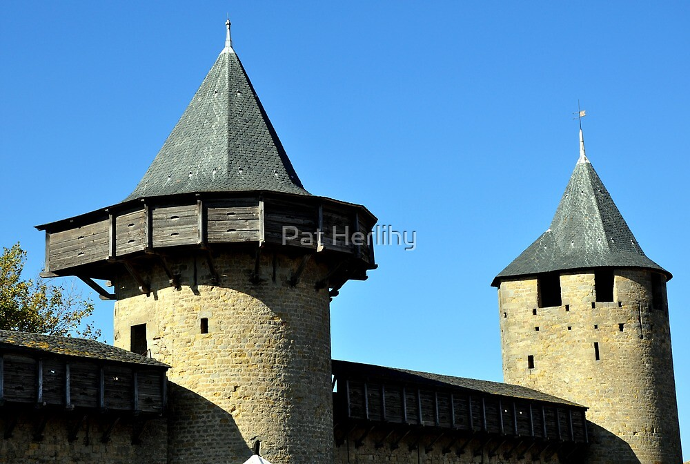 Carcassonne, La Cite  by Pat Herlihy