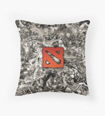 Dota 2 Artwork Throw Pillow