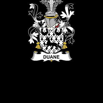 Duane Coat of Arms - Family Crest Shirt by FamilyCrest