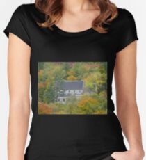 In the Heart of the Woods Women's Fitted Scoop T-Shirt