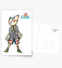 Fashion Digger - I am too Cool Postcards