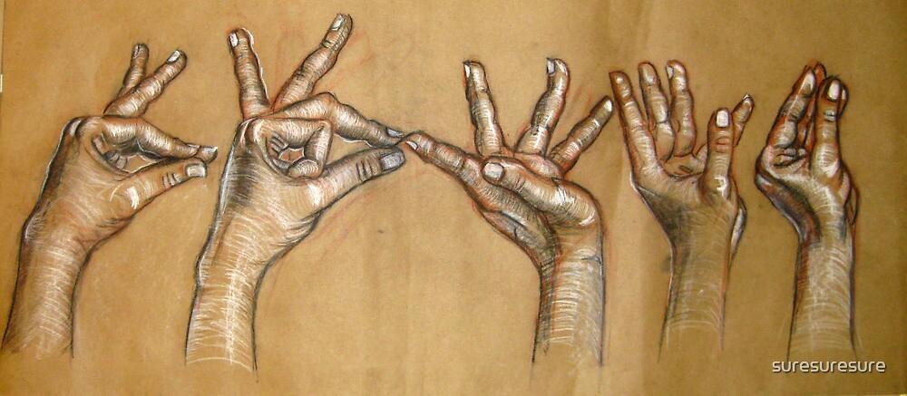 Hands 'Mudras' by suresuresure