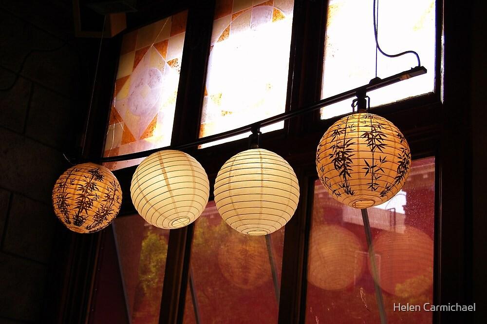 Dancing lanterns by Helen Carmichael