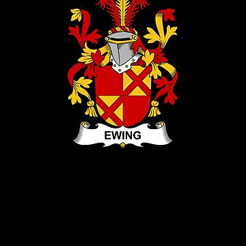Ewing Coat of Arms - Family Crest Shirt by FamilyCrest