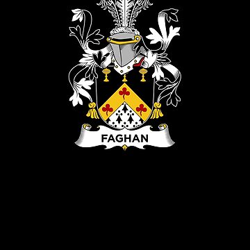 Faghan Coat of Arms - Family Crest Shirt by FamilyCrest