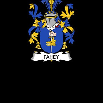 Fahey Coat of Arms - Family Crest Shirt by FamilyCrest