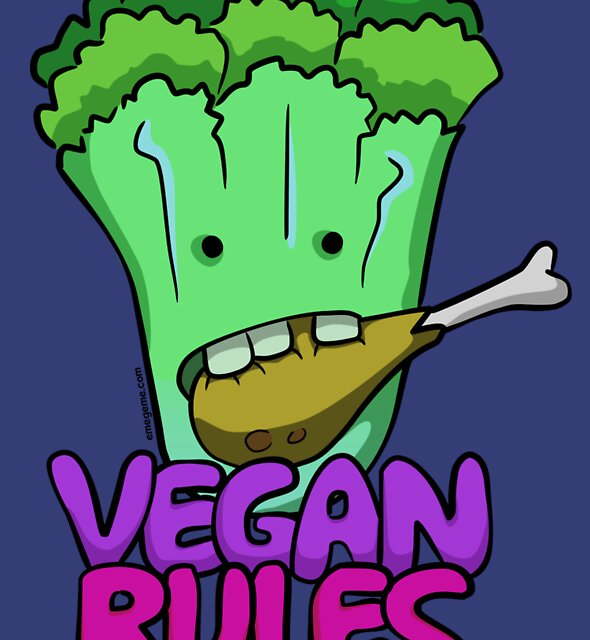 Vegan Rules by raysan