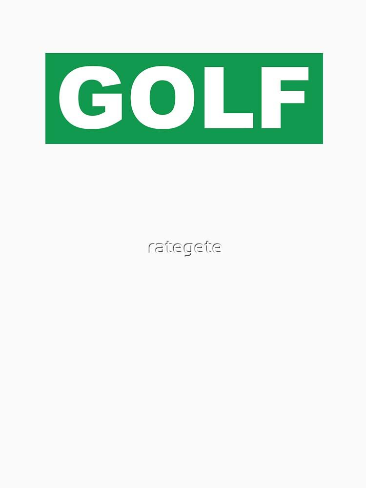 Golf Wang Tyler von rategete