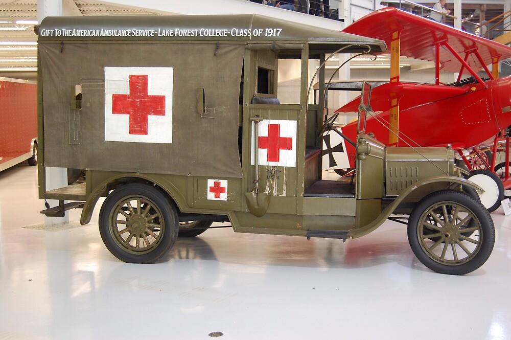 WW1 Ambulance by Steven Squizzero