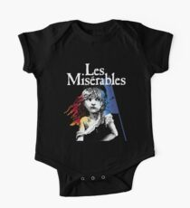 Les Miserables Short Sleeve Baby One-Piece