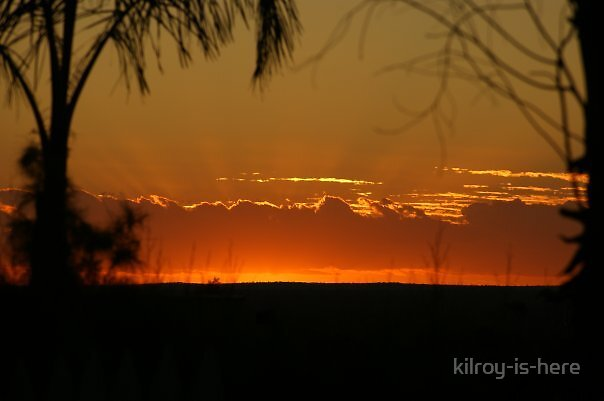 outback sunset by kilroy-is-here