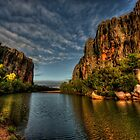 Windjana Gorge - Kimberley WA by Ian English
