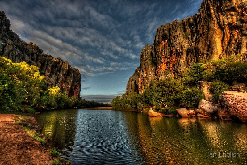 Quot Windjana Gorge Kimberley Wa Quot Art Prints By Ian English