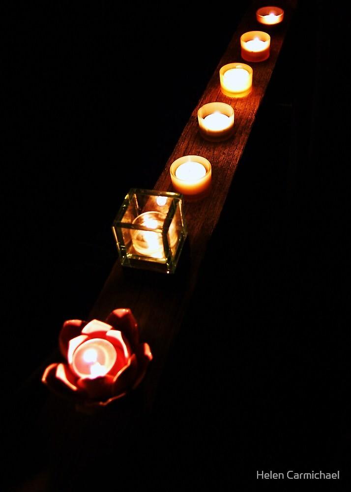 Chakra lights by Helen Carmichael