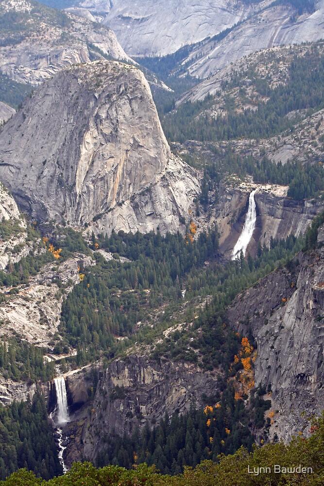 """Nevada and Vernal Falls"" by Lynn Bawden"