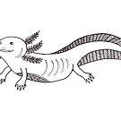 Axolotl by Hana Ayoob
