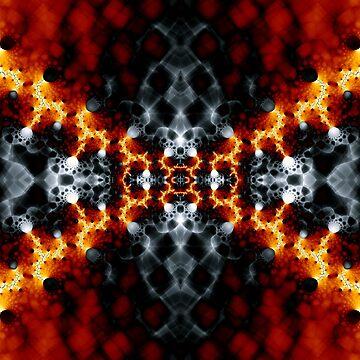 Fractal Art - Lava II by Desmo