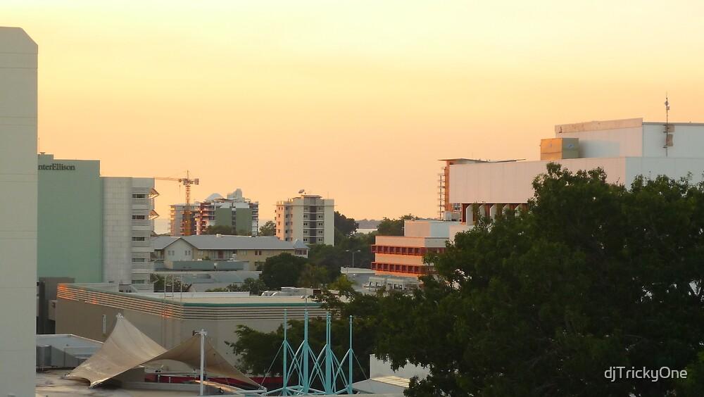 Darwin - Sunset on the Skyline by djTrickyOne