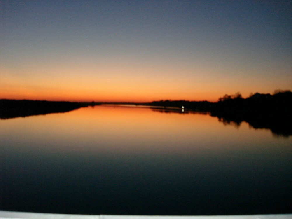 Sunset in Nov. by bobbarker86