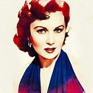 Rhonda Fleming, Vintage Hollywood Star by SerpentFilms