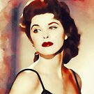 Tina Louise, Vintage Actress by SerpentFilms