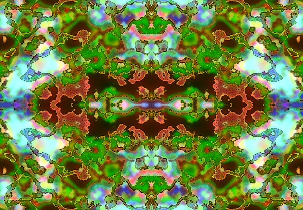 Kaleidoscope card 2 by blacknight