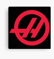 Haas F1 Logo Canvas Print
