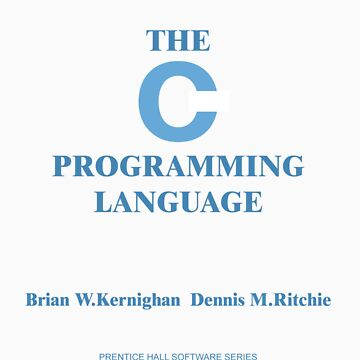 Kernighan and Ritchie by novelnetwear