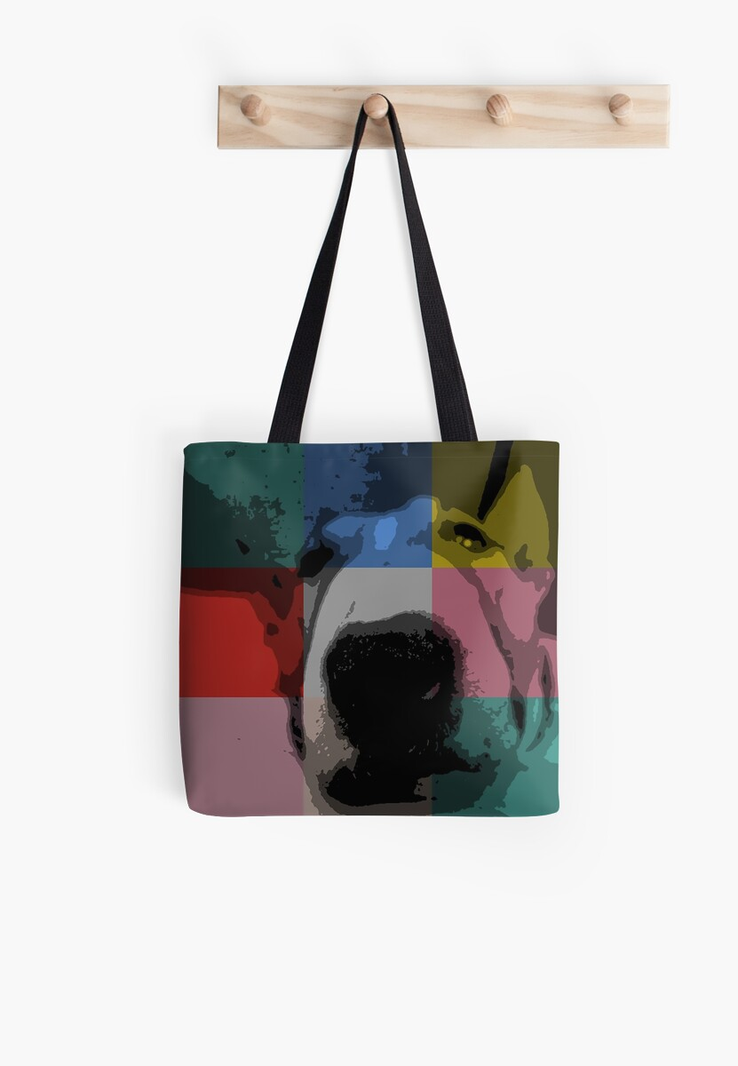 Think Outside The Square - Bull Terrier Dog by BulliesRule