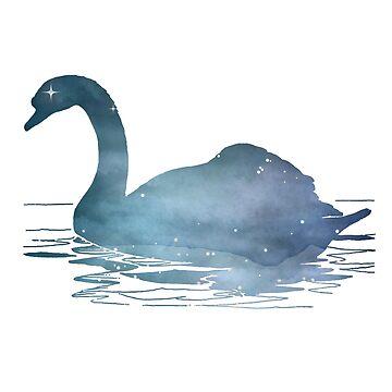 Swan by GwendolynFrost