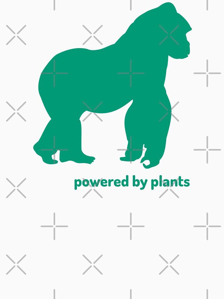 gorilla powered by plants by PlantVictorious