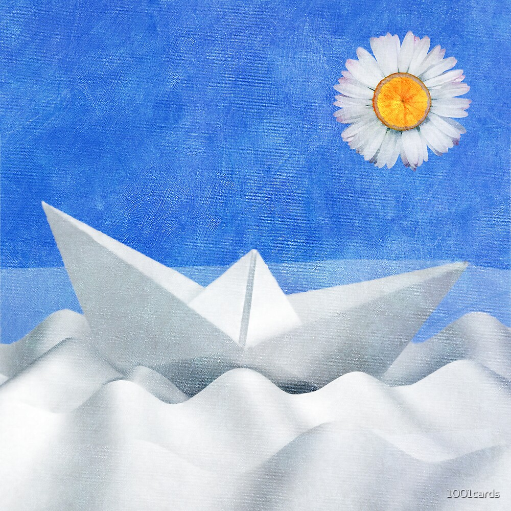 a sunny day on the sea _card  by 1001cards