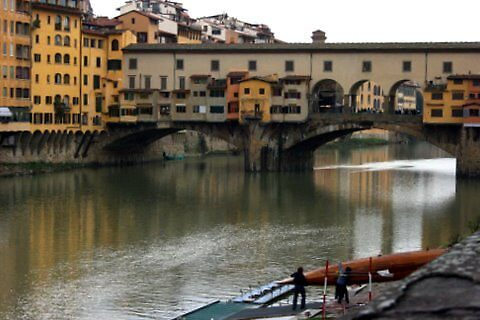 Above the Arno by joybliss