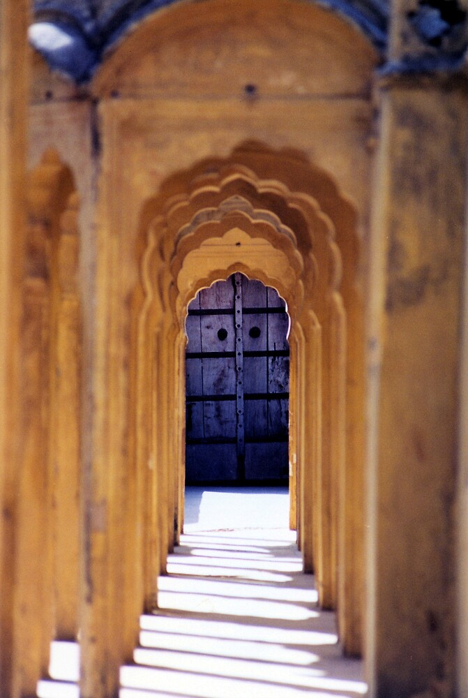 Palace of the Winds, Jaipur, India by Louise  Bishop